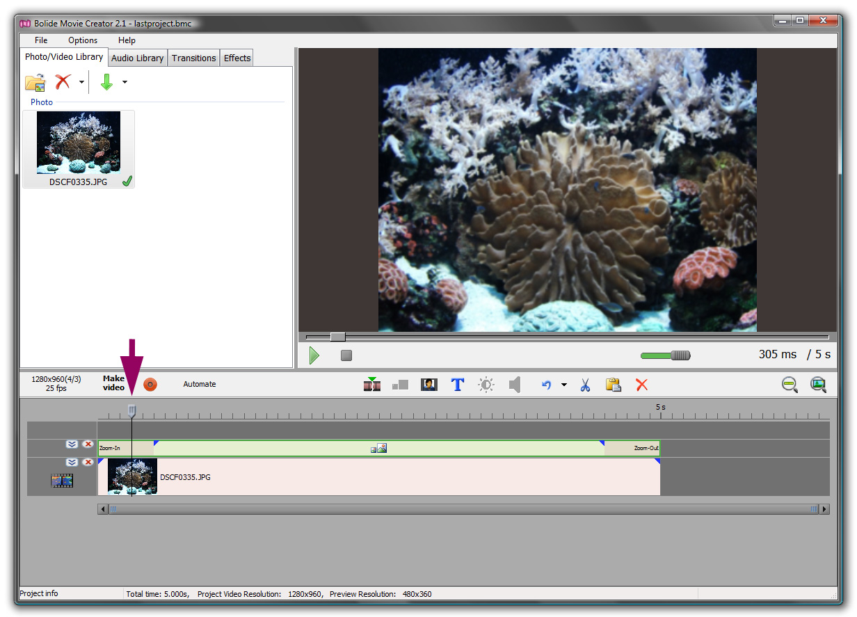video editing bolide movie creator free download